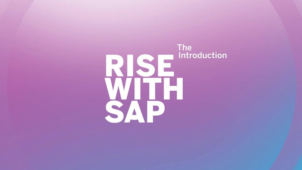 Fünf Gründe für RISE WITH SAP